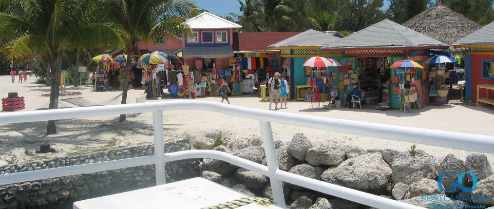 Shops and Bars in Coco Cay