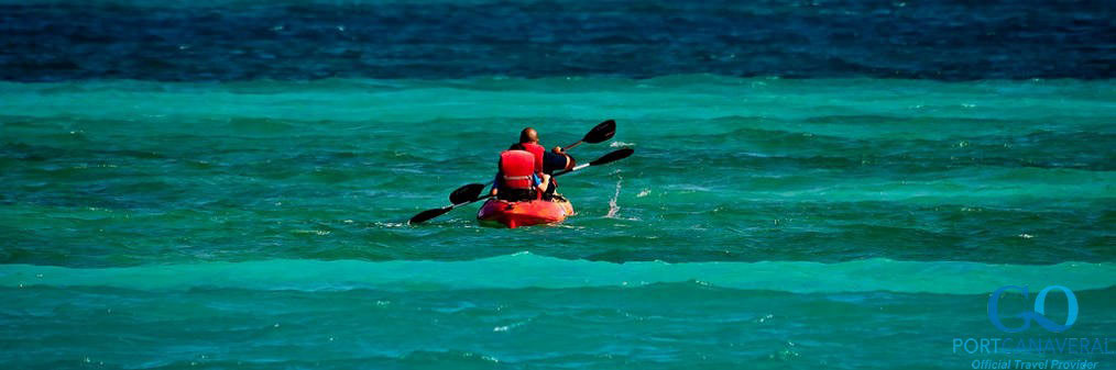 Kayaking - one of many excursions