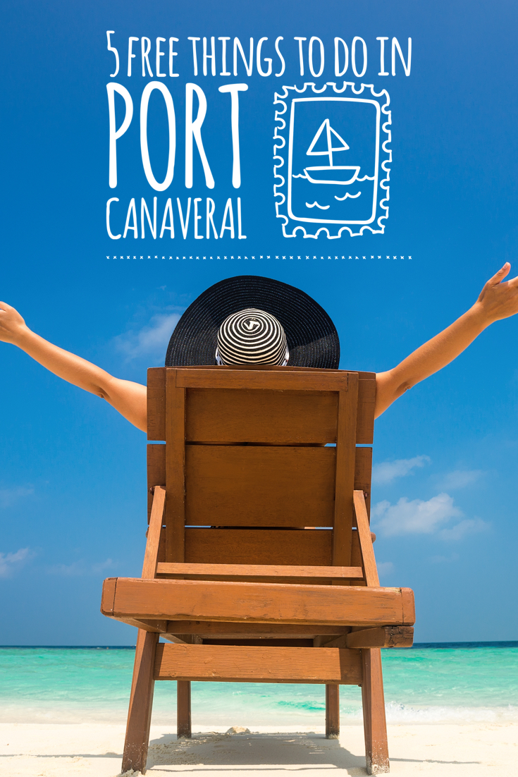 5 Free Things to do in Port Canaveral | Go Port #cruise #free #portcanaveral #travel #vacation