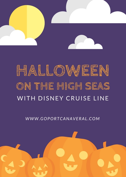 Halloween on the High Seas with Disney Cruise Line | goport.com