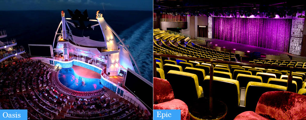 oasis vs epic theater experience