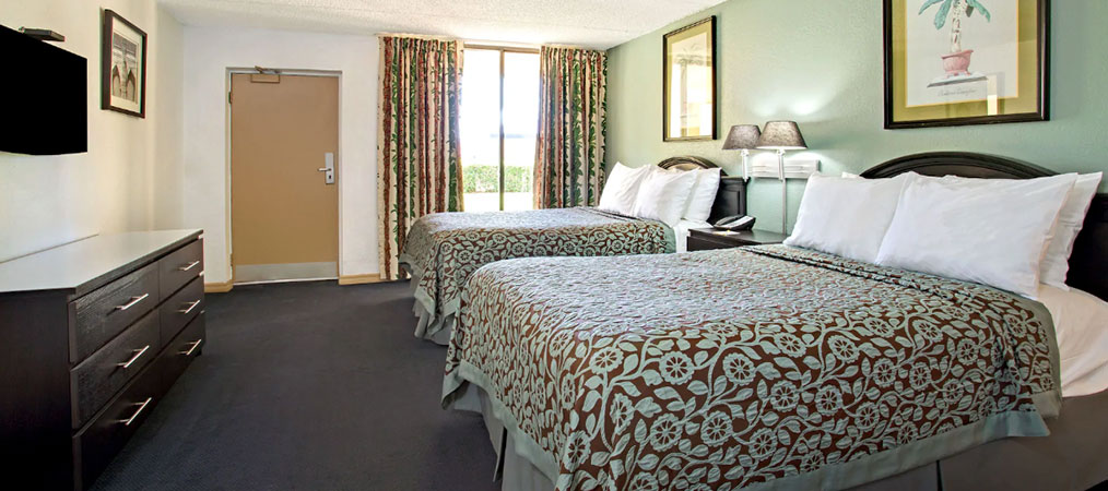 Double Beds at Days Inn
