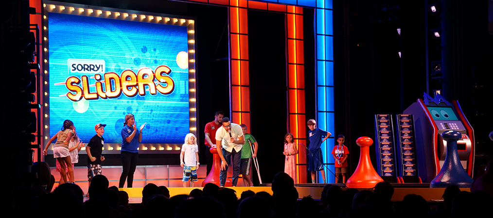 game show on Carnival Breeze