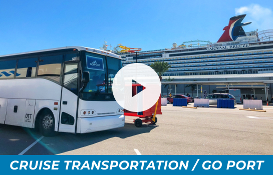 Transportation from Orlando Airport to Port Canaveral Youtube Video; Press to play