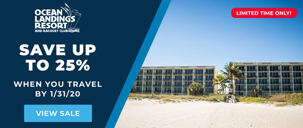 Ocean Landings Cocoa Beach Snooze and Cruise Deals